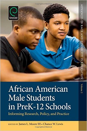 african american male students in PK-12